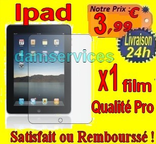 PROTECTION ECRAN ipad x1