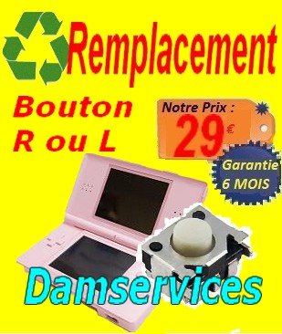 REMPLACEMENT  bouton on off