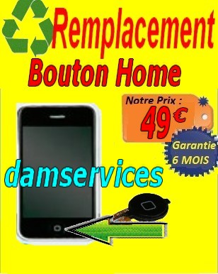 REMPLACEMEN bouton home IPHONE2