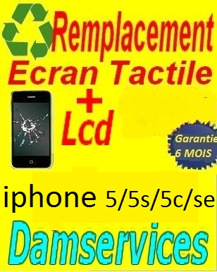 remplacement lcd +tactile iphone 6