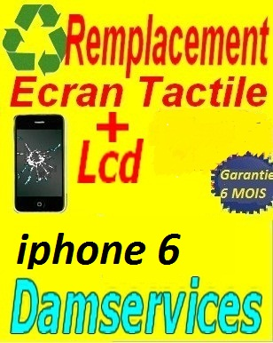 remplacement lcd +tactile iphone 7